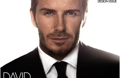 David Beckham pour L.A Confidential Magazine