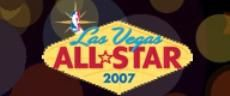 La diffusion du NBA All-star Week-end 2007 de Las Vegas
