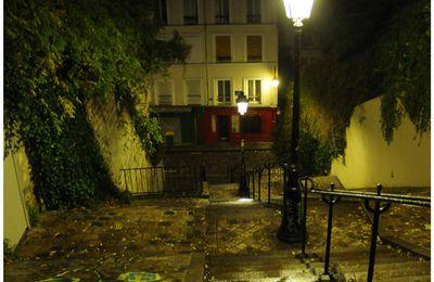 Paris, Montmartre nocturne