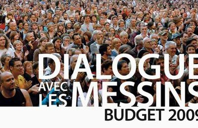Budget 2009 à Metz: le second temps du changement