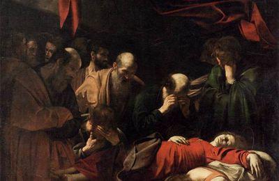 CARAVAGE : la mort de la vierge