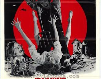 BLOOD-HORRORS DRIVE-IN DOUBLE BILL: INVASION OF THE BLOOD FARMERS de Ed Adlum (1972) / I DRINK YOUR BLOOD de David Durston (1970)