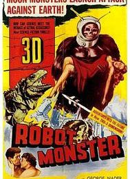 GORILLA DRIVE-IN DOUBLE FEATURE : THE BEAST THAT KILLED WOMAN de Barry Mahon (1965) / ROBOT MONSTER de Phil Tucker (1953)