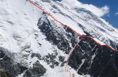Arête Métrier et traversée des Domes de Miages (Mt-Blanc)