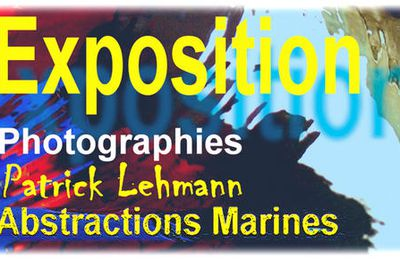 "Exposition ""Abstractions Marines"" au Croisic"