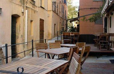 Bastia ou dégradé d'orange