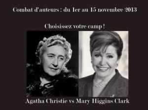 Combat d'auteurs : Agatha Christie Vs Mary Higgins Clark