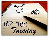 Top Ten Tuesday : Les 10 choses que vous aimez/n'aimez pas dans les romances