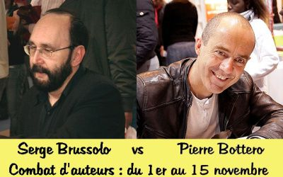 Combat d'auteurs : Serge Brussolo Vs Pierre Bottero
