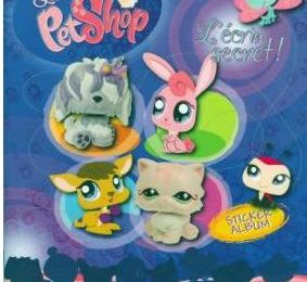 littlest petshop album panini sticker album
