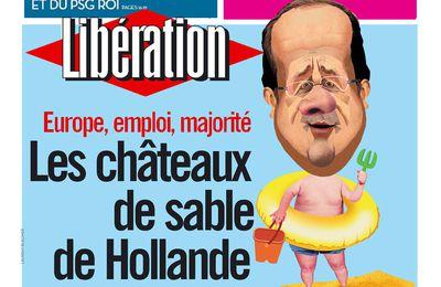 Les vacances de Mr Hollande