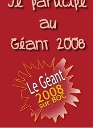 Best of Créa : le Géant 2008 - J-26