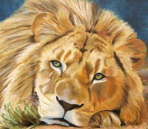 Le roi des animaux .