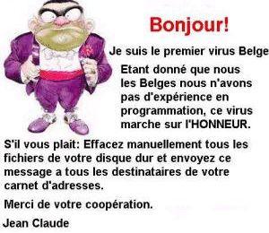 Le virus Belge...