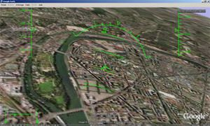 Google earth : Simulateur de vol gratuit