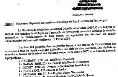 Agglo d'Orléans : 6 radars bientôt aux feux rouges