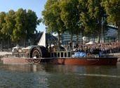 L'Inex coule : Orléans sur Loire dans la vase