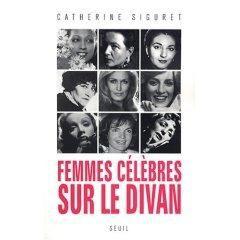 Femmes célèbres sur le divan...