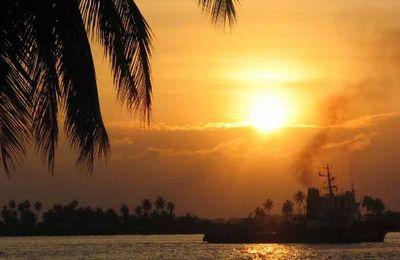 Un coucher de soleil a Lagos