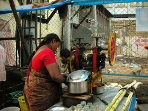 Boissons gourmandes d'Inde du sud