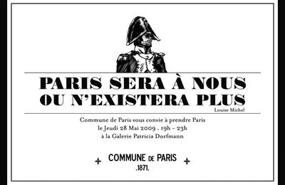 Invitation + Commune de Paris +