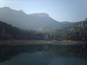 Le lac du Revest... un instant magique