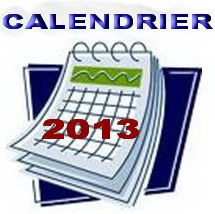 Modification du calendrier...