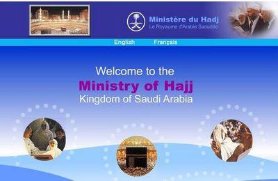 Le ministère du Hadj en ligne