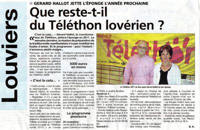 L'Avenir du Téléthon ?