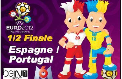 [Mer 27 Juin] Euro 2012 (1/2) Espagne / Portugal (20h45) BeIn Sport 1 & M6