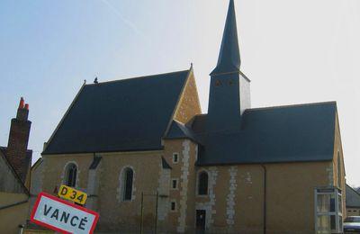 L'église Saint-Martin de Vancé (72)