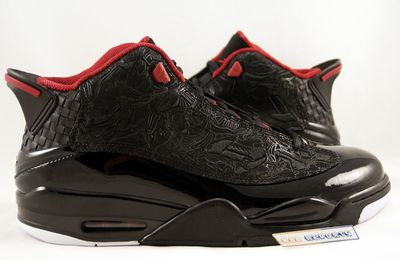 Nike Air Jordan Dub Zero Black Red