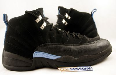 Nike Air Jordan XII rétro 2003 Black - University Blue