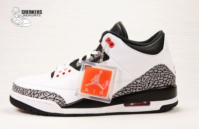 Nike Air Jordan III rétro Infrared 23