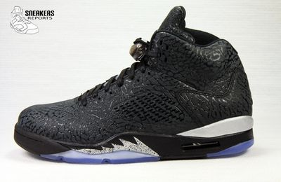 Nike Air Jordan V 3LAB5 Metallic Silver