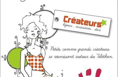 Créa-Téléthon - vente d'articles de créateurs au profit du Téléthon