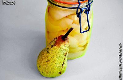 Conserve de poires