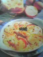 Oeufs gratinés au fromage