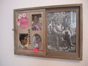 Cadre scrap mariage