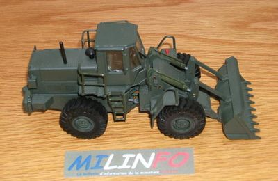 Chargeur Fiat Allis FR 20 au 1/43 (Old Car)
