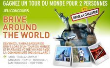 Brive around the world and brive in his hometown
