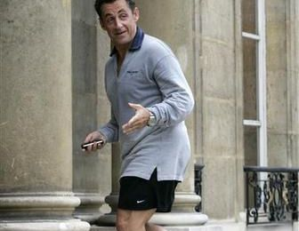 Sarkozy, jogging et performances