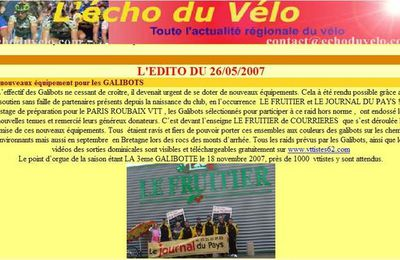 article echo velo