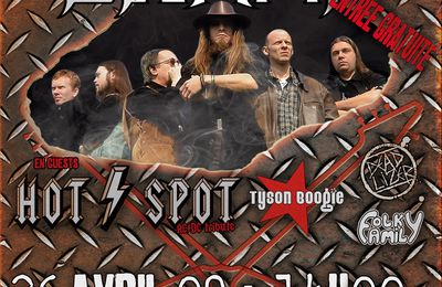 HOT SPOT (tribute AC/DC) en Concert