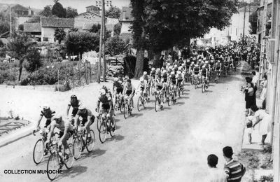 LISLE : passage du Tour de France 1960