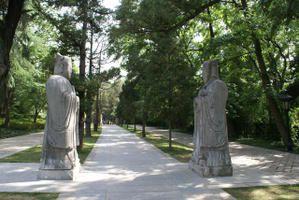 Tourisme à Nanjing, le tombeau Ming xiaoling