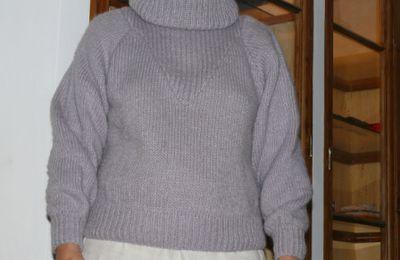 Mes premiers ouvrages au tricot (Christine)