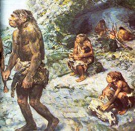 Vos papiers monsieur  Néandertal !
