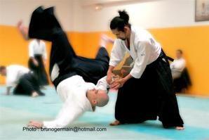 Stages Aïkido Tamura, Sugano, Cocconi, Si Guesmi et passage de grades Aïkido (suite)