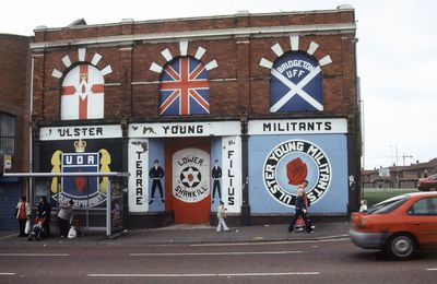 25) Shankill road, West Belfast